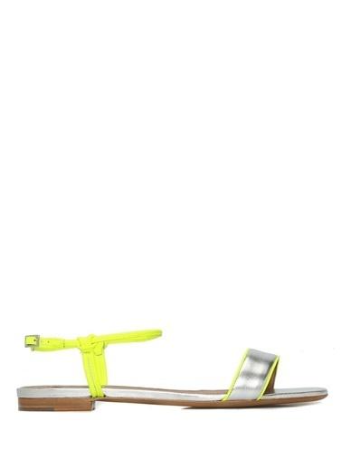 Tabitha Simmons Sandalet Gümüş